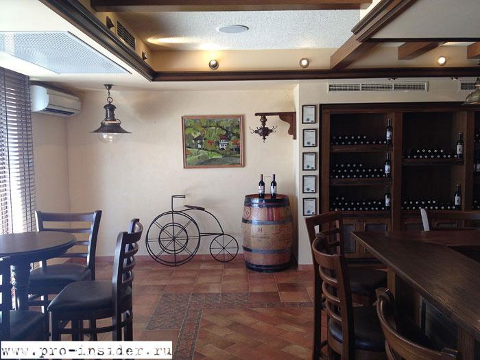 Дегустационный зал винодельни «Братья Минковы»