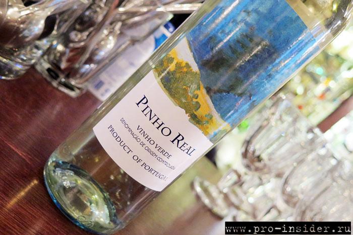 Ужин с винами Quinta da Lixa