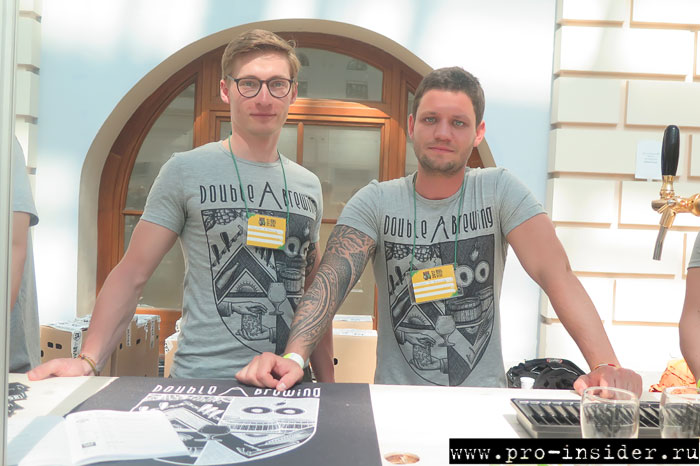 Антон и Андрей из Double A Brewing