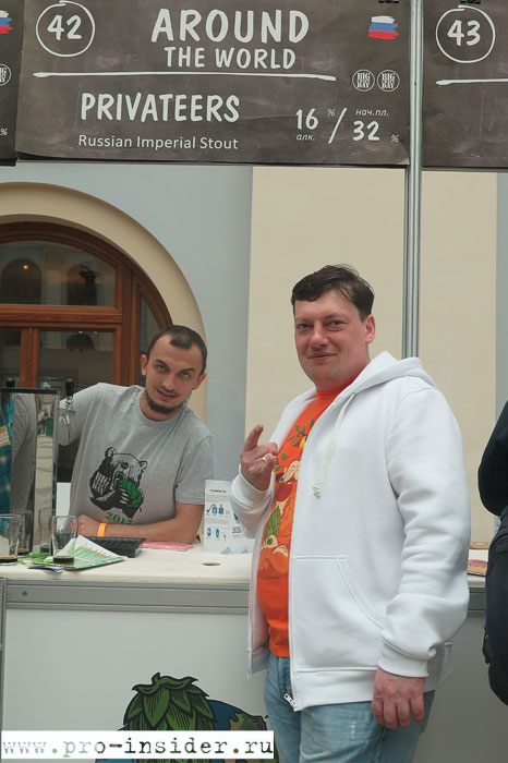 Андрей Дутиков. Around The World Brewery