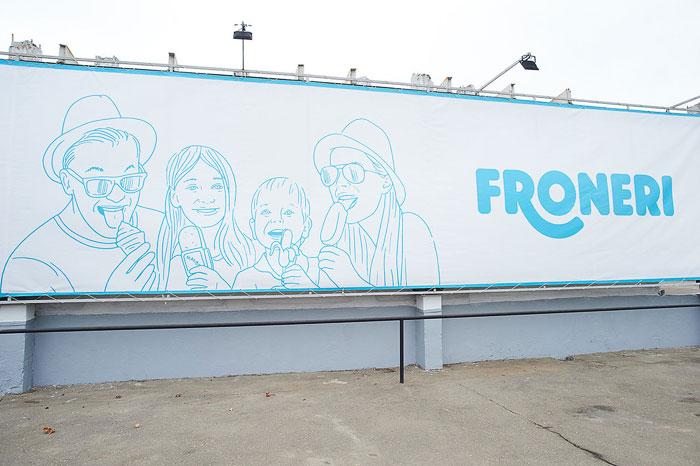 Мороженое от компании Froneri