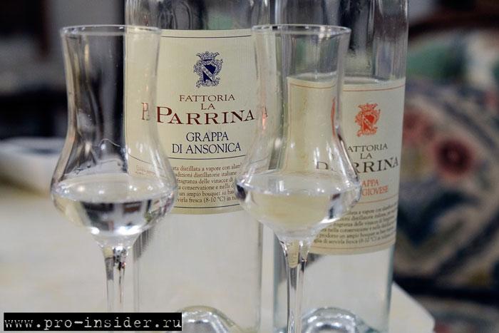 Граппа La Parrina
