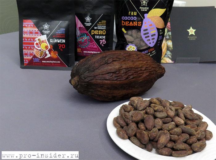 Перуанский шоколад, киноа и чиа