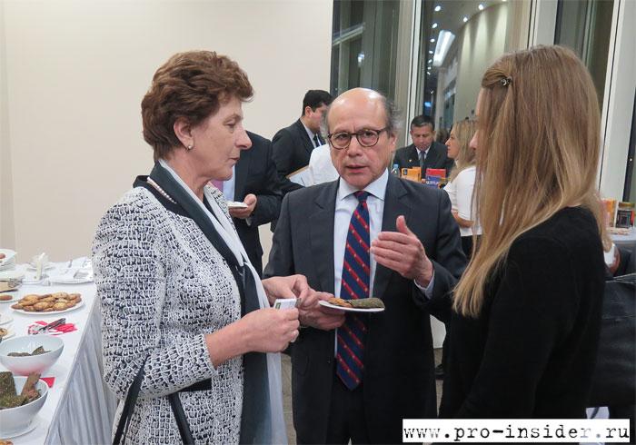 Бенхамин Чимой и Ольга Кухаренкова