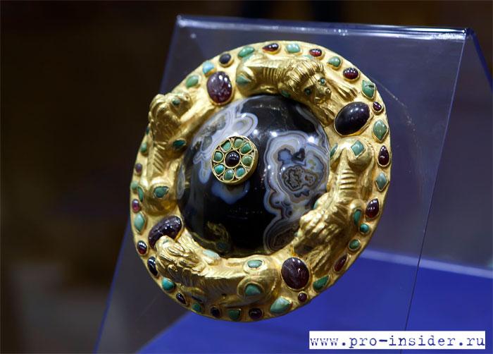 Экспонат из азовского музея