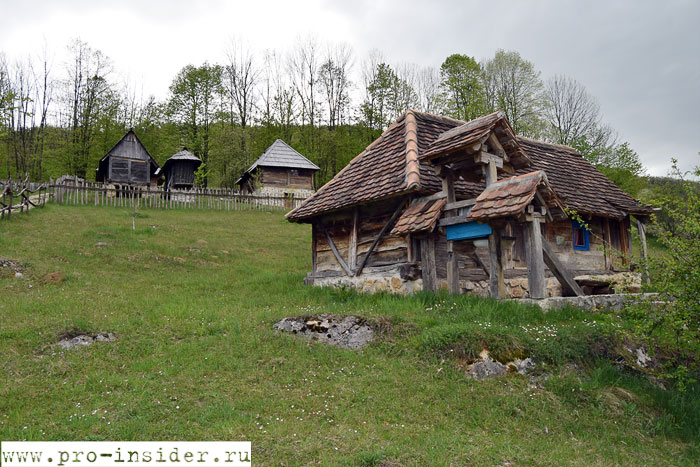 Этно деревня-музей Льубачка Долина.
