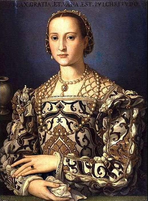 Аньоло Бронзино. Элеонора Толедская. 1545.