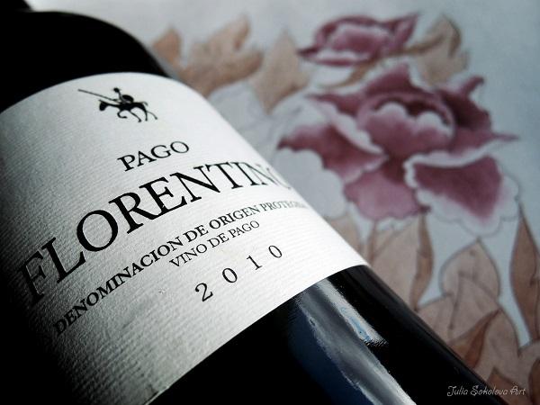 Pago Florentino и рисунок вином