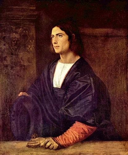 Тициан «Портрет молодого человека»