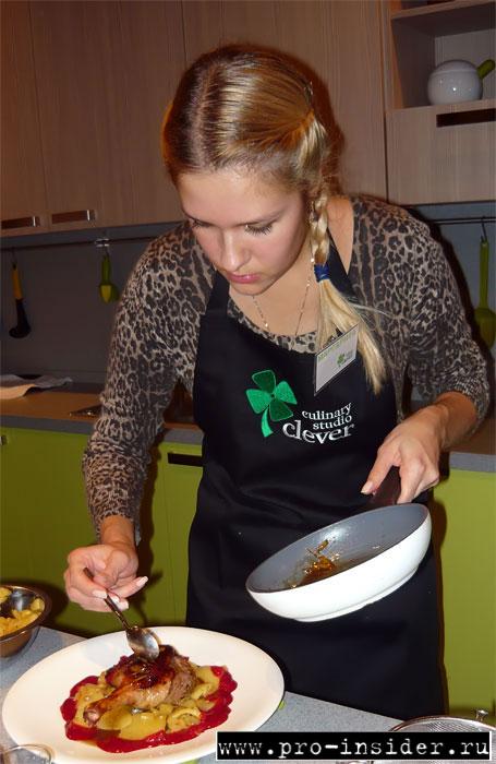 Кулинарный мастер-класс CLEVER-CHEF