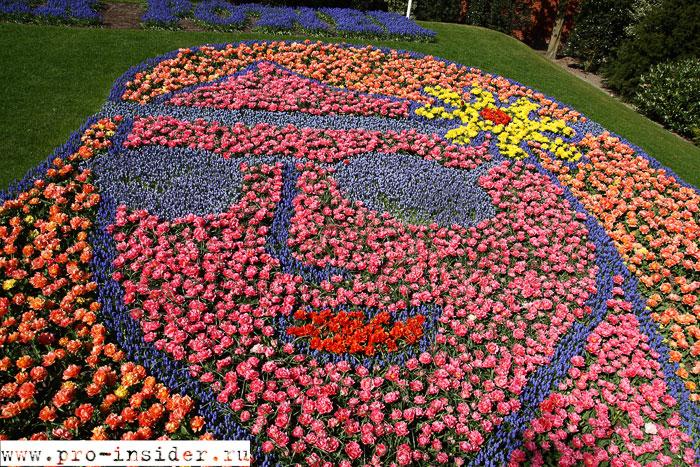 Выставка цветов в Кёкенхофе