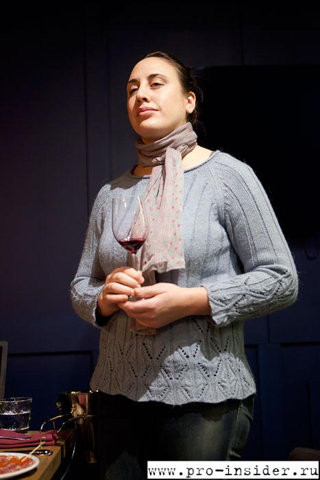 Сандра Эстевес. Vinicola del Priorat