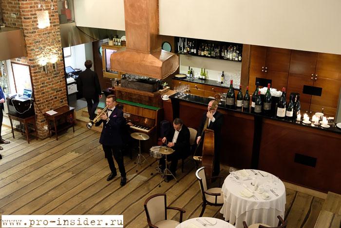 Эногастрономический ужин в Le Restaurant с винами Шабли