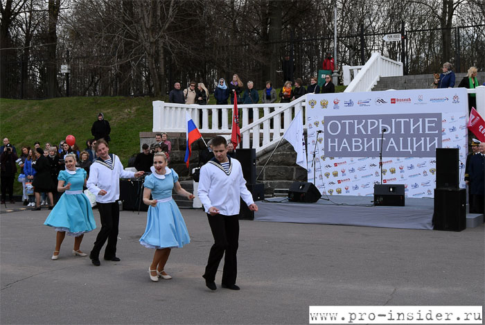 Открытие речной навигации в Москве
