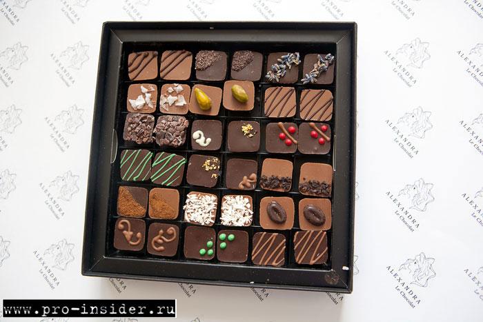 Конфеты ALEXANDRA  Le Chocolat