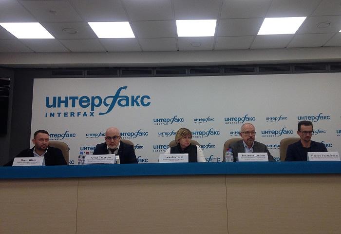 Пресс-конференция Золотой Балки