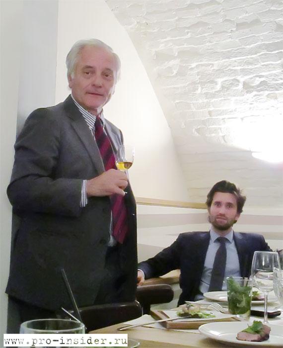 Отец и сын Жан-Франсуа и Пьер Мартен. Domaine du Coquerel