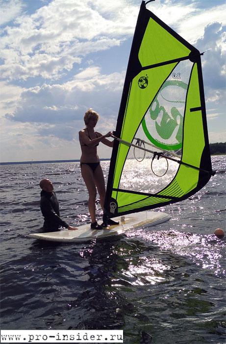 Спорт на воде в любую погоду.