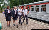 Новомосковская детская железная дорога