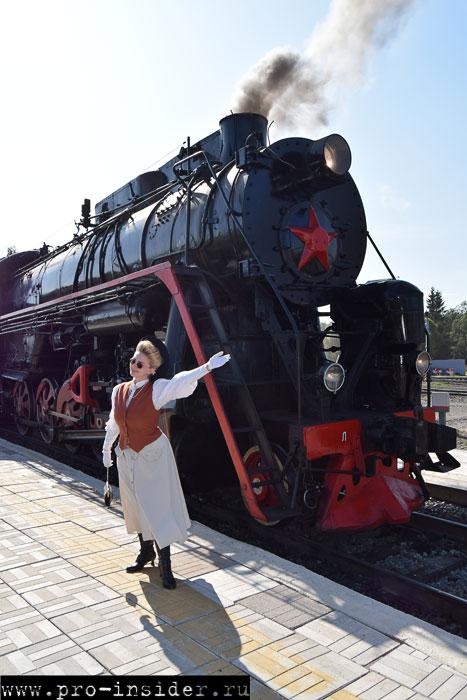 Поезд Москва - Сортавала и Рускеальский экспресс