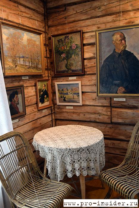 Дом-музей известного художника С.В.Герасимова