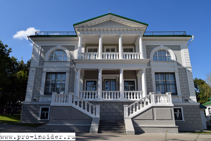 императорский дворец в Бородино