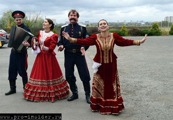 Казаки.  Ростовская область
