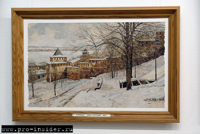«Флорийская мозаика» Александра Юркова. Нижний Новгород