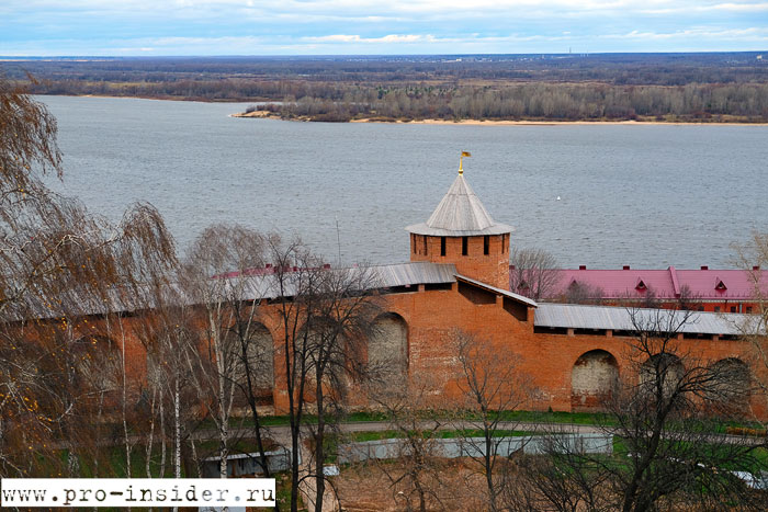 Кремль. Нижний Новгород.