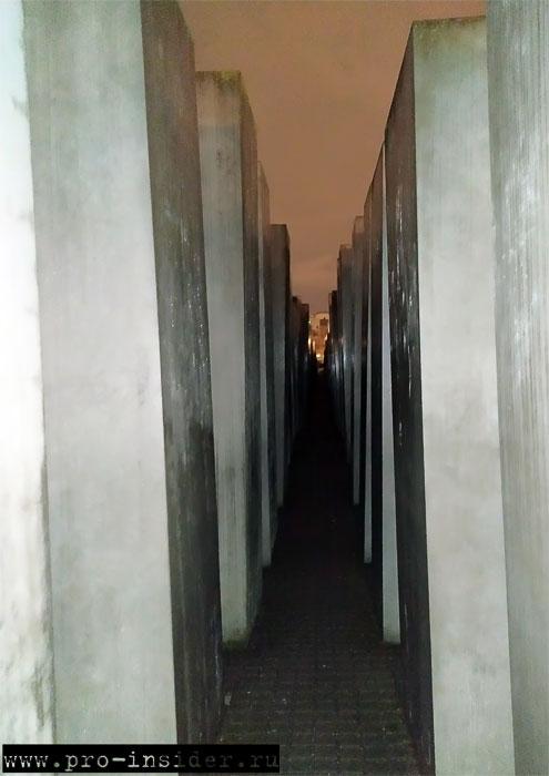 Мемориал памяти жертв холокоста. Берлин. Германия