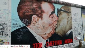 East Side Gallery. Берлин. Германия