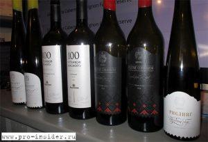 Российские вина от Паркера