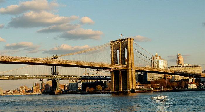 Бруклинский мост / Нью Йорк / США
