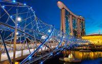 Мост Спирали (Хэликс) / Сингапур