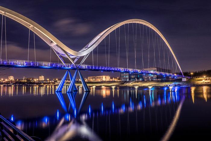 Мост Бесконечность  /  Стоктон-он-Тис / Великобритания