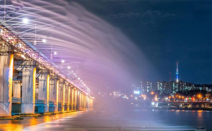 Банпо мост / Сеул / Южная Корея