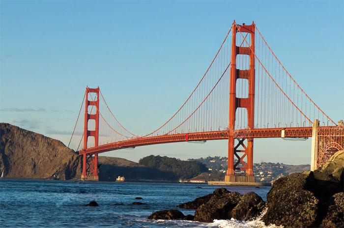 Мост Золотые ворота / Сан Франциско / США