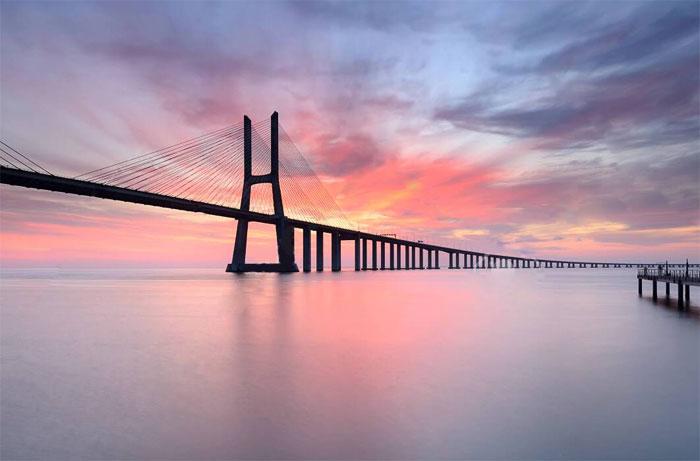 Мост Васко да Гама / Лиссабон / Португалия