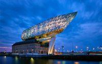 Здание администрации порта Антверпена / Бельгия