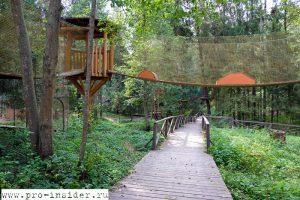 Парк приключений в Сергиевом Посаде