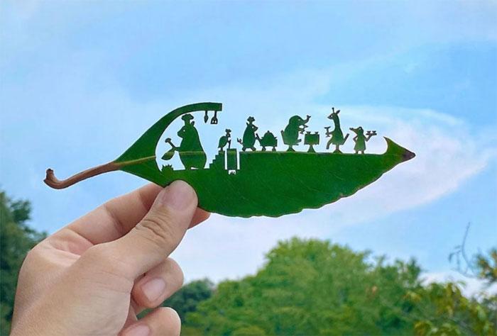 Арт листва