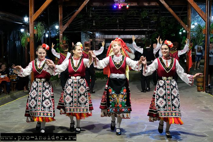 Болгария танцы