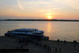 Самарская область. Волга. Закат