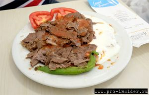 Искендер-кебаб. Турция